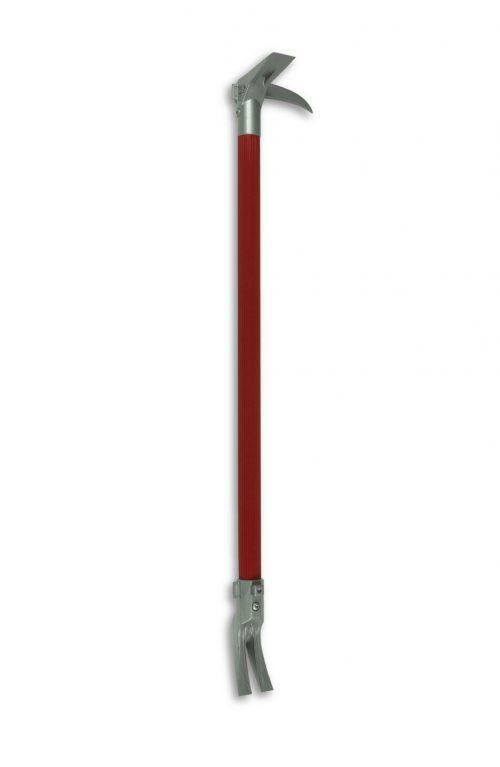 "ZT40-24 Halligan Tool - Red/Silver 24"""