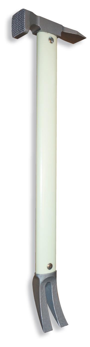 "ZT49-GLOW Mini Halligan w/o Pic 23"" - Glow in the Dark"