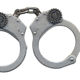 ZT60 Tactical Training Handcuffs - Chain Link - Nickel