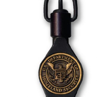 DHS KEY Swivel Key with Department of Homeland Security Medallion